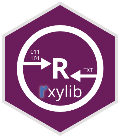 R package 'rxylib'